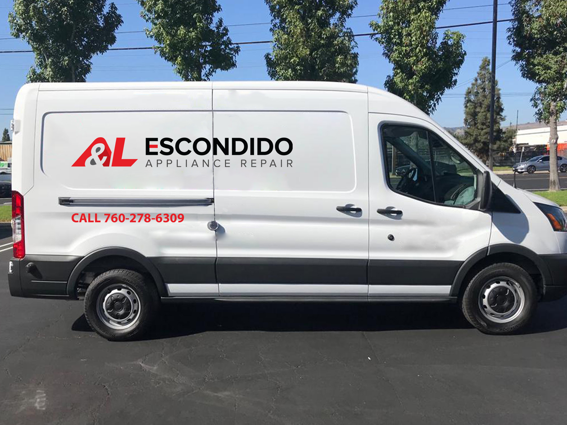 appliance repair van in escondido